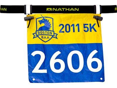 NATHAN Race Number Belt 2.0 Schwarz