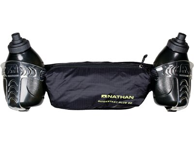 NATHAN Quickstart Plus 20oz/ 600ml Hydration Belt Schwarz
