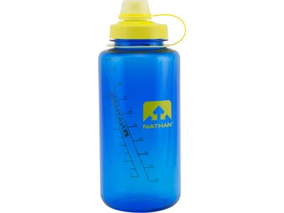 NATHAN Big Shot 34oz/1L Flask Blau