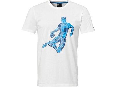 KEMPA T-Shirt Polygon Player Weiß