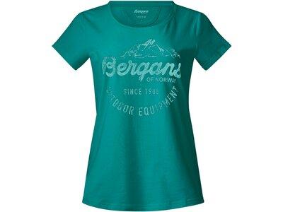 BERGANS Damen Shirt Classic Grün