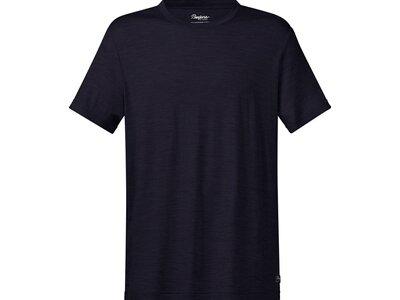BERGANS Herren Shirt Oslo Wool Schwarz
