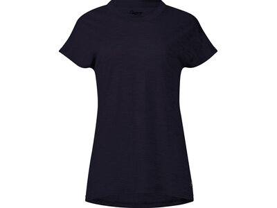 BERGANS Damen Shirt Oslo Wool Schwarz