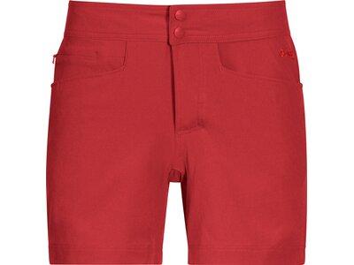 BERGANS Damen Cecilie Climbing Shorts Rot