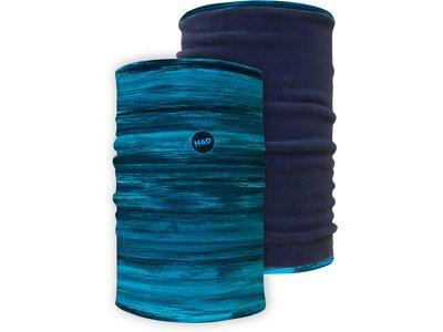 H.A.D. ORIGINALS Multifunktionstuch Apollon Pink - Fleece: Pink Blau