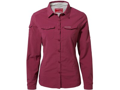 CRAGHOPPERS Damen Bluse NosiLife Adventure Rot