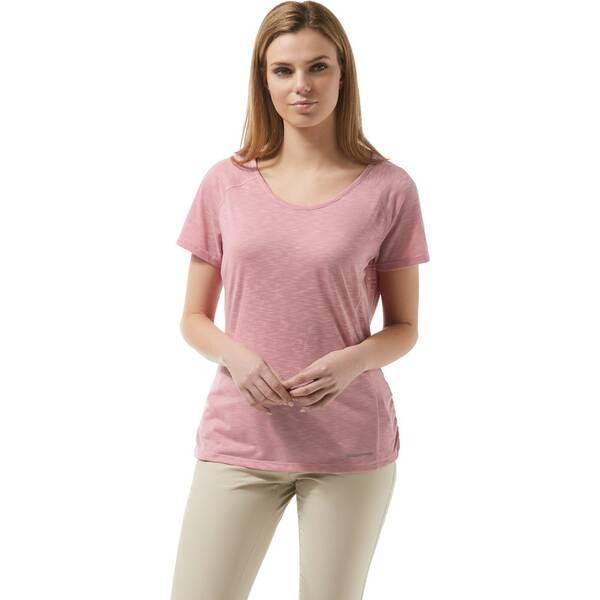 CRAGHOPPERS Damen T-shirt NosiLife Harbour
