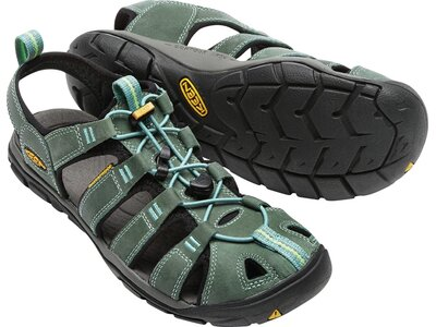 "KEEN Damen Trekkingsandale ""Clearwater Leather CNX"" Grau"