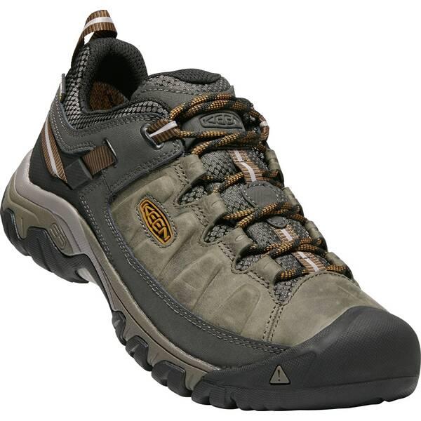 KEEN Herren Wanderschuhe Targhee III WP Black Olive/Golden Brown | Schuhe > Outdoorschuhe > Wanderschuhe | Black - Brown | KEEN