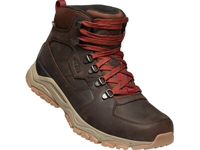 KEEN Herren Multifunktionsstiefel INNATE LEATHER MID WP M-CHESTNUT/FIRED B