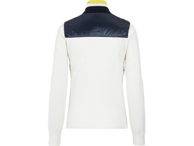 J. LINDEBERG Damen Rolli Luna Knitted Hybrid sweater Weiß