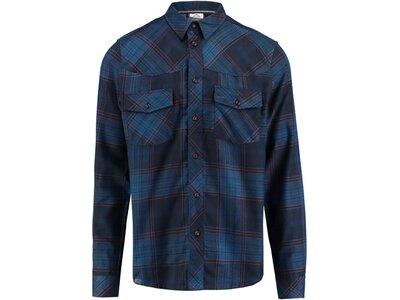 McKINLEY Herren Berghemd Gordon Langarm Blau