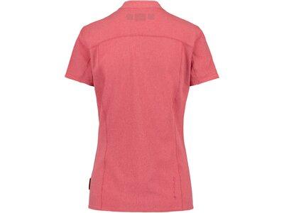 McKINLEY Damen Bergbluse Palmer Kurzarm Pink