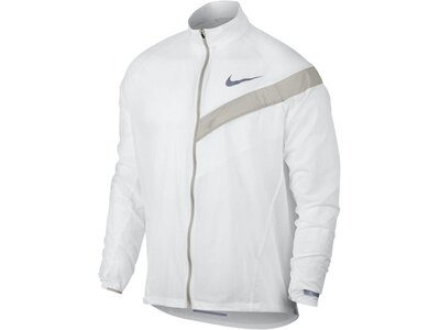 NIKE Herren Laufjacke Impossibly Light Running Jacket Weiß
