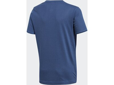 ADIDAS Kinder T-Shirt Training Knit Blau