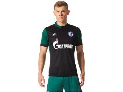 ADIDAS Herren Fußballtrikot Schalke 04 3rd Jersey Saison 2017/18 Grau