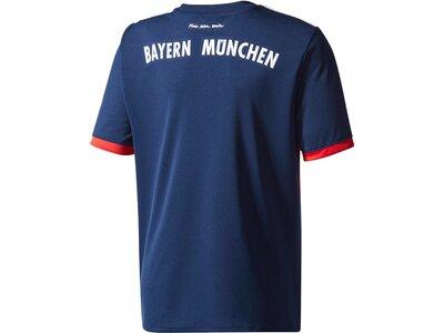 ADIDAS Kinder Fußballtrikot FC Bayern München Away Jersey Saison 2017/18 Rot