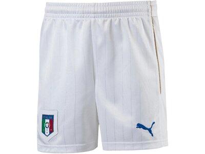 PUMA Kinder Fußballshorts Figc Replica Shorts Italien EM 2016 Weiß