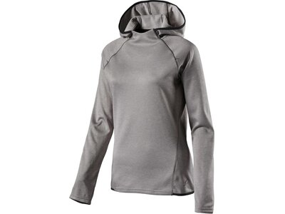 PROTOUCH Damen Laufshirt Brushed hooded Janina Silber