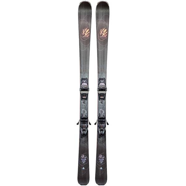 K2 Damen Slalomskier Burning Luv 74 inkl. Bindung Marker ER3 10