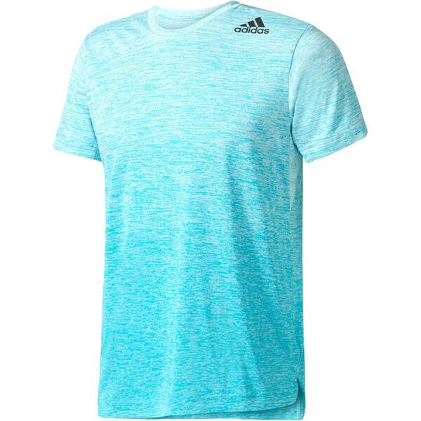 ADIDAS Herren Trainingsshirt Freelift Tee Gradient Blau