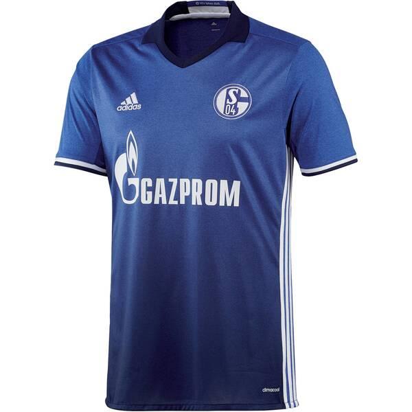 ADIDAS Herren Fußballtrikot FC Schalke 04 Home Jersey Saison 2016/17 Blau