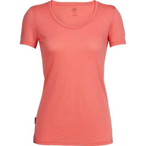 ICEBREAKER Merino Damen Funktionsshirt Women's Tech Lite Short Sleeve Scoop