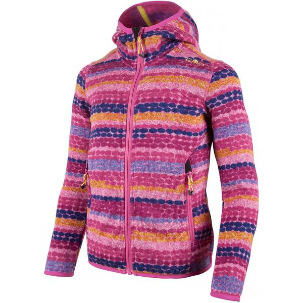 CMP Kinder Kapuzensweat GIRL FLEECE JACKET FIX HOOD