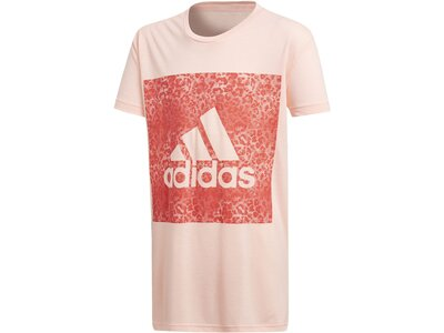 ADIDAS Kinder T-Shirt Essentials Logo in the Box Pink