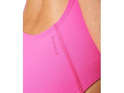 ADIDAS Damen Badeanzug Clubline Swimsuit Pink