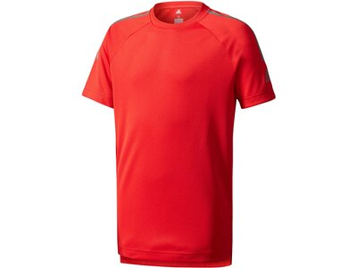 ADIDAS Kinder Trainingsshirt Training Cool Tee Rot