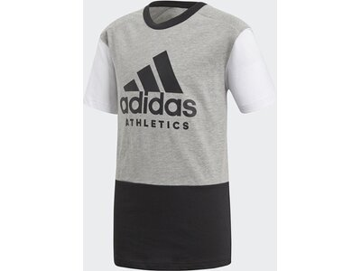 ADIDAS Kinder Langarmshirt Sport ID Weiß