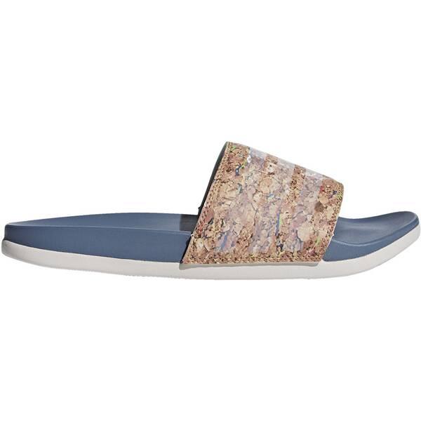 ADIDAS Damen Adilette Cloudfoam Plus Cork Slipper