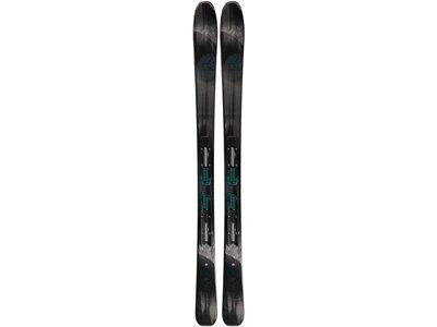 K2 Damen Allmountain Skier Luv Sick 80 Ti Schwarz