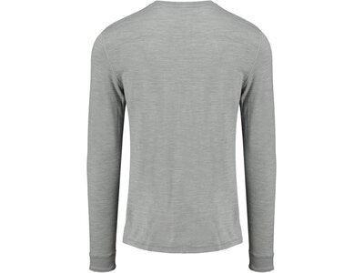 ODLO Herren Funktionsunterhemd Shirt L/S Crew Neck Natural 10 Grau