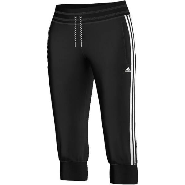 ADIDAS Damen 3/4  Trainingshose Pant Essentials