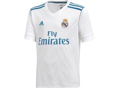 ADIDAS Kinder Real Madrid Heimtrikot Weiß