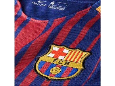 NIKE Herren Fußballtrikot FC Barcelona Home Saison 2017/2018 Blau