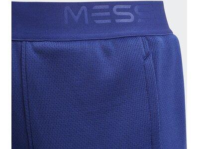 ADIDAS Kinder Messi Knit Shorts Blau