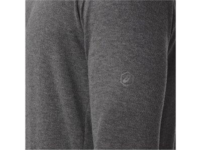 ASICS Herren Sweatshirt / Laufshirt FuzeX Crew Langarm Grau