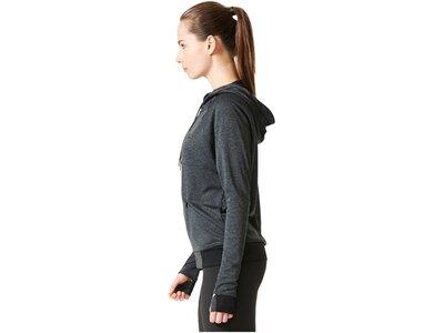 ADIDAS Damen Trainingsjacke Performance FZ Hoody Grau