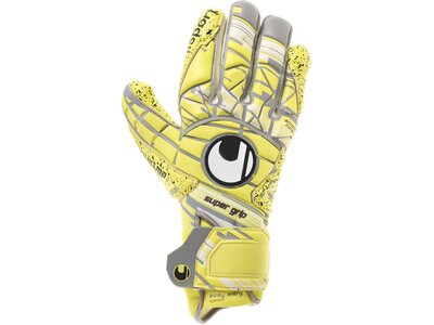 UHLSPORT Herren Torwarthandschuhe Eliminator Supergrip HN gelb