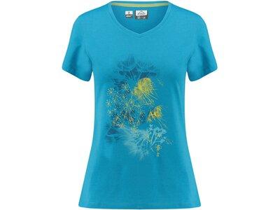 McKINLEY Damen Outdoor-Shirt Creina Kurzarm Blau