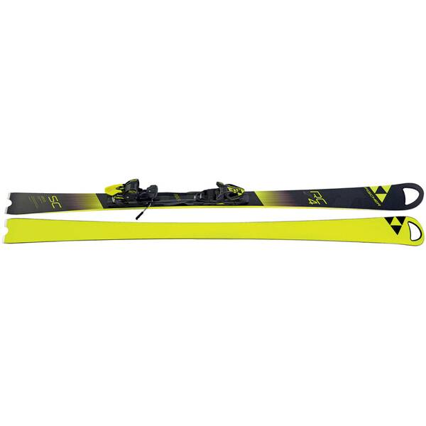 FISCHER Skier RC4 World Cup SC Yellow Base inkl. Bindung RC4 Z12