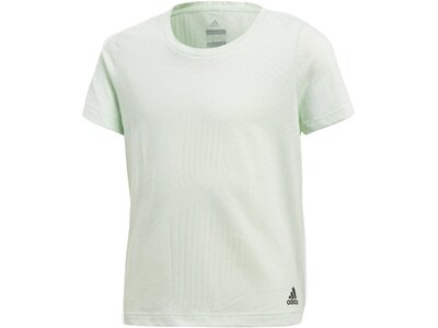 ADIDAS Kinder Trainingsshirt Aeroknit Weiß