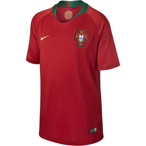 NIKE Kinder Fußballtrikot Portugal Stadium Home WM 2018