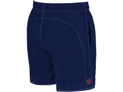 arena Herren Badehose Boxer Fundamentals Solid Blau