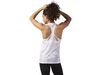 REEBOK Damen Burnout Tanktop Weiß