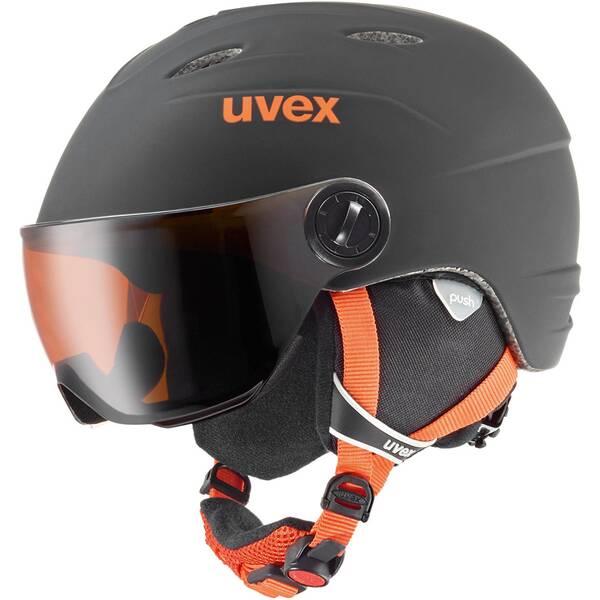 """UVEX Kinder Skihelm """"junior visor pro"""""""