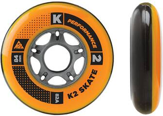 K2 Inliner Rollen Set 84 mm Wheel 4 Pack